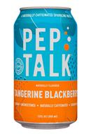 Pep Talk: PepTalk-12oz-CaffeinatedSparkling-TangerineBlack-Front
