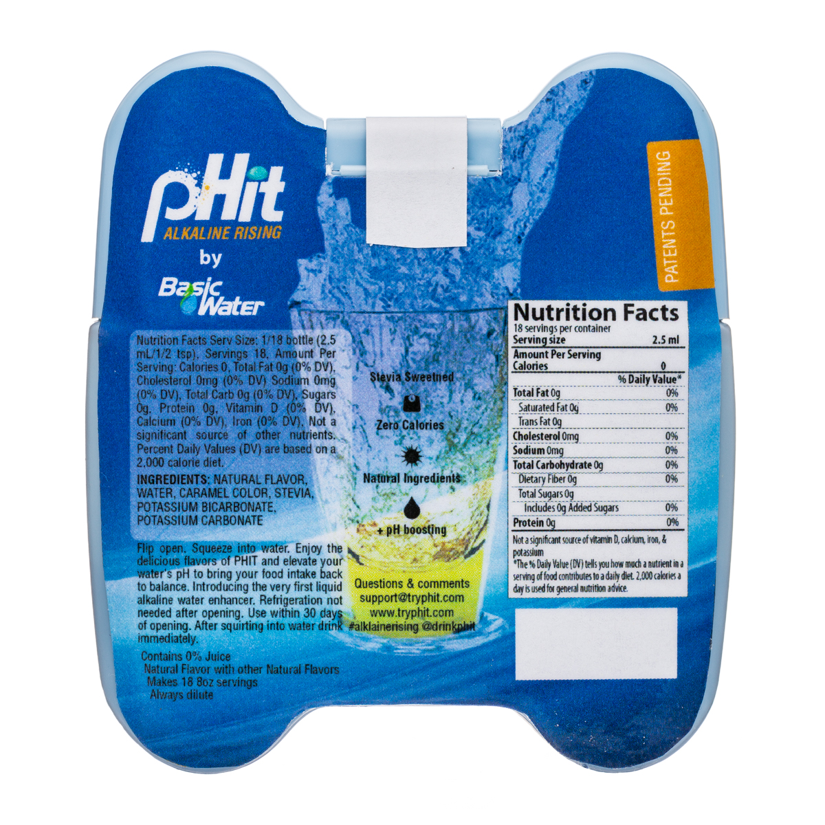 pHit: pHit-2oz-AlkMixer-IcedTea-Facts