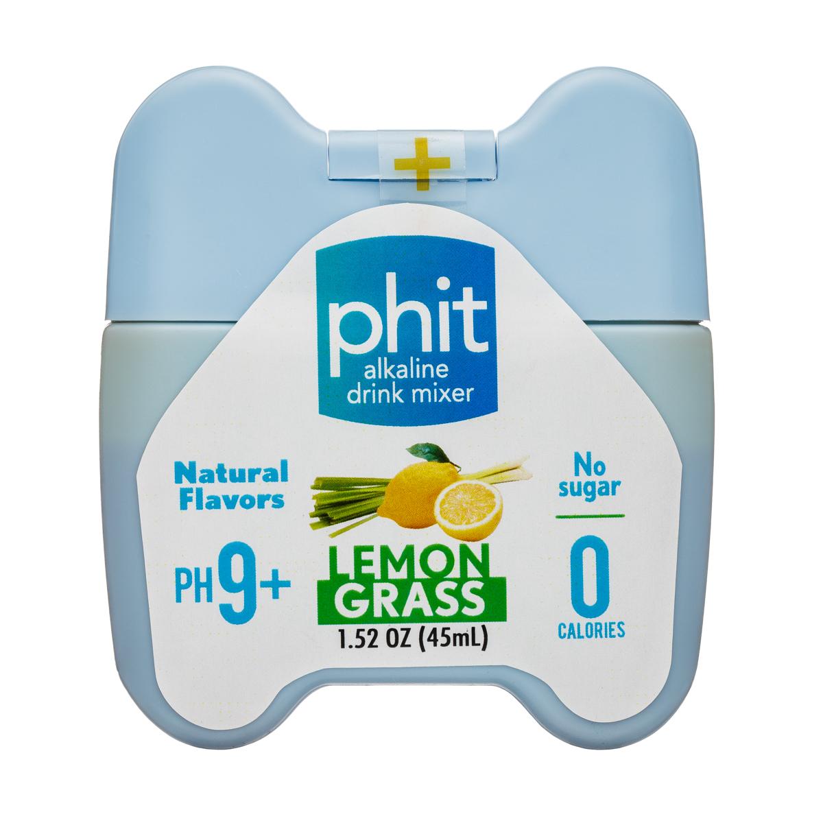 pHit: phit-1oz-AlkalineMixer-Lemongrass-Front