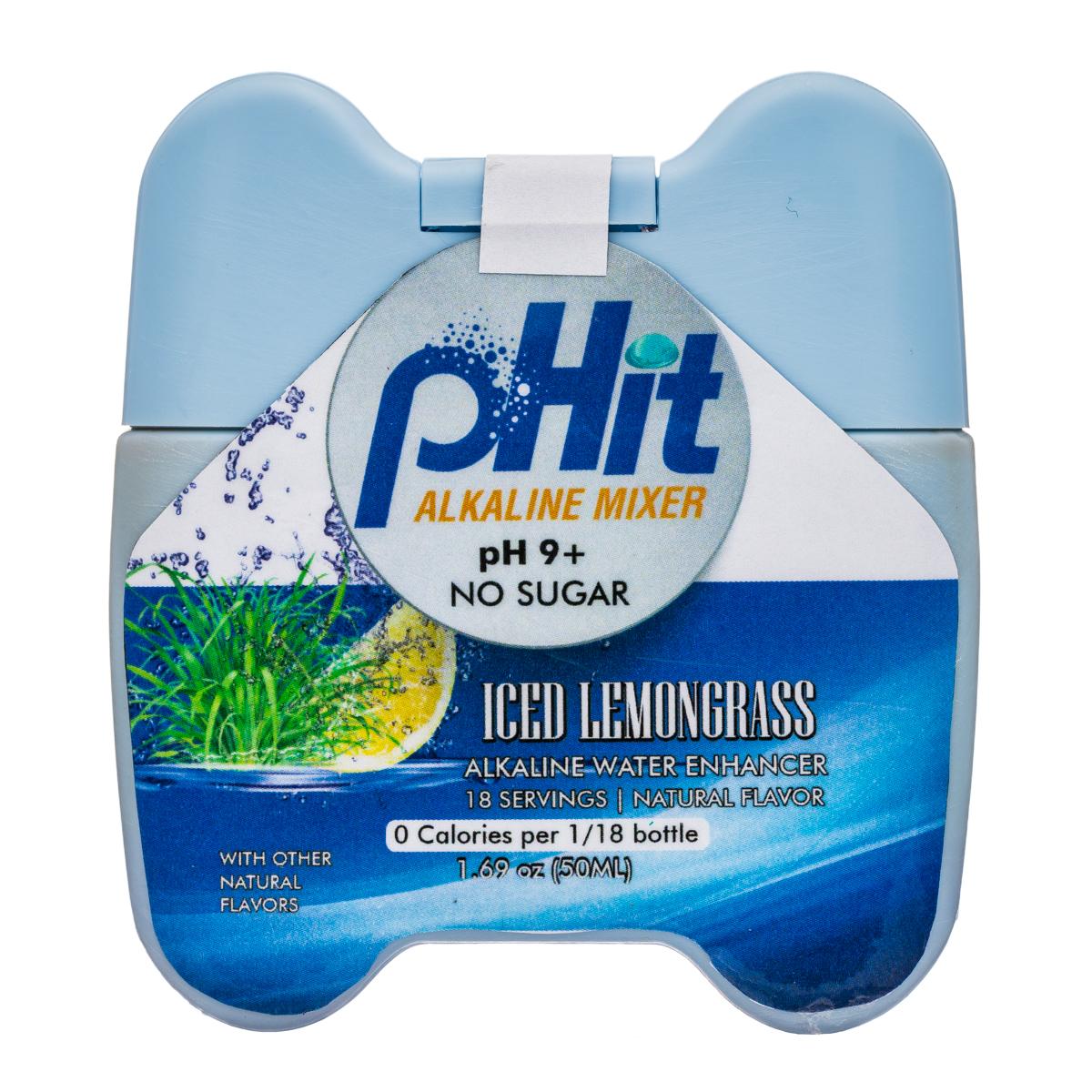 pHit: pHit-2oz-AlkMixer-IcedLemongrass-Front