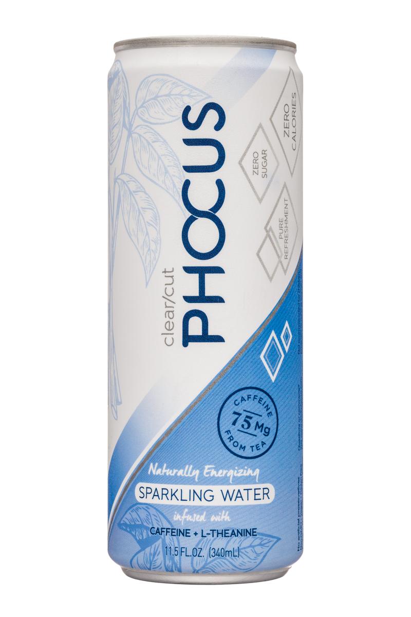 Phocus: ClearCutPhocus-12oz-Sparkling-NaturallyEnergizing-Front