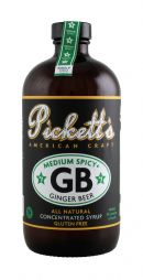 Pickett's Ginger Beer: Picketts MediumSpicy Front