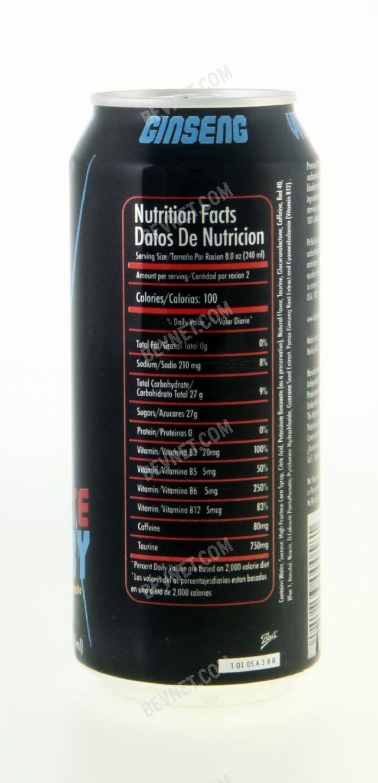 Pit Bull Energy Drink: