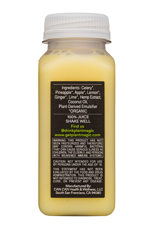 Plant Magic: PlantMagic-2oz-HempJuice-CeleryCrush-Facts