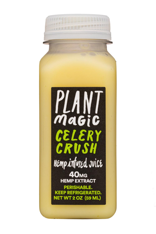 Plant Magic: PlantMagic-2oz-HempJuice-CeleryCrush-Front