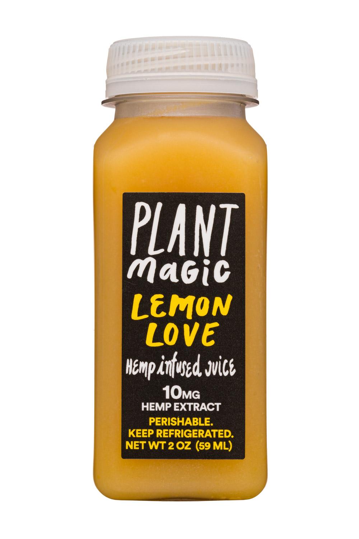 Plant Magic: PlantMagic-2oz-HempJuice-LemonLove-Front