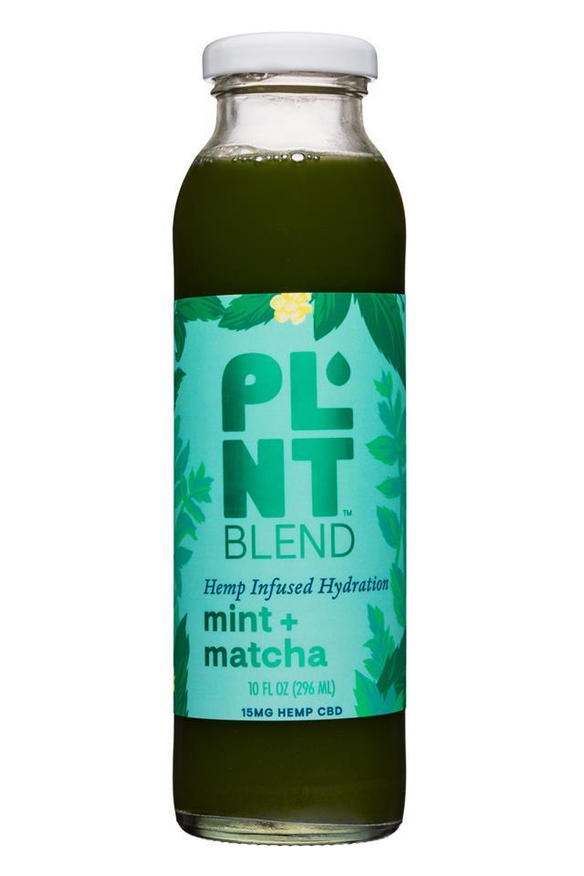 PLNT Blend: PLNT-15oz-HempInfused-MintMatcha-Front