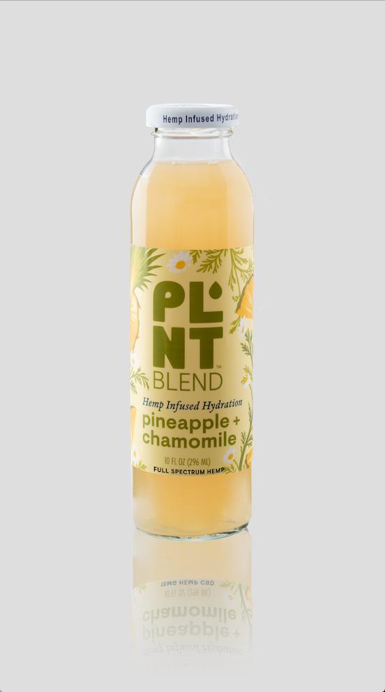 PLNT Blend: HempInfused-PineappleChamomile-Front