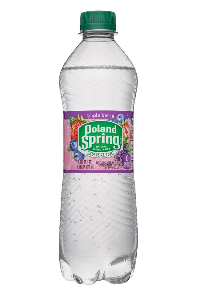 Poland Spring Nature's Blend: PolandSpring-17oz-Sparkling-TripleBerry-Front