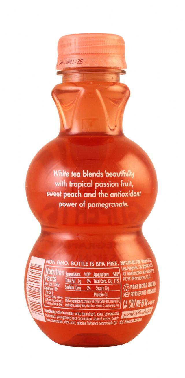 POM Wonderful: PomTea PeachPassion Facts