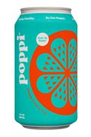 Poppi: Poppi-12oz-5gSugarPrebioticSoda-Orange-Front