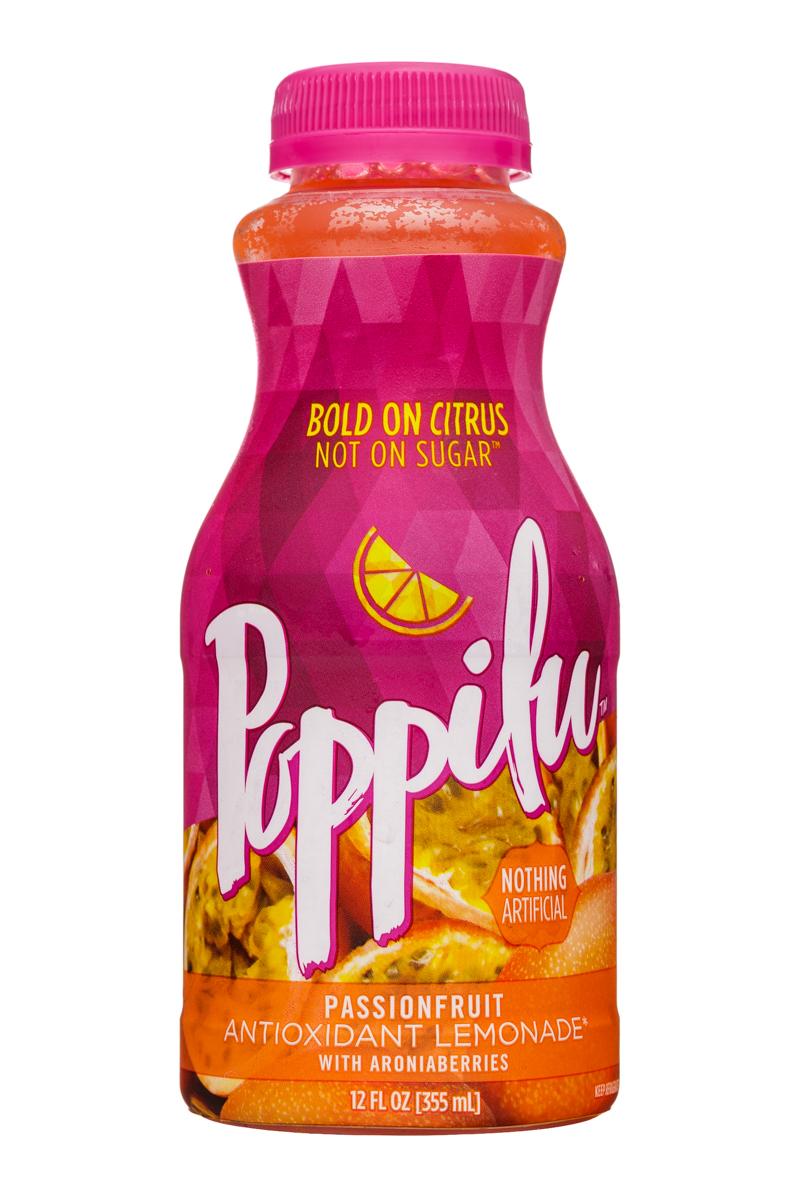 Poppilu: Poppilu-12oz-AntioxidantLemonade-Passionfruit-Front