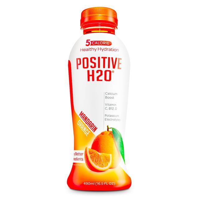 Positive Beverage: PositiveH20-17oz-Orange