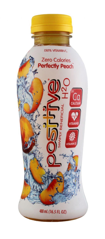 Positive Beverage: Positive Peach Front