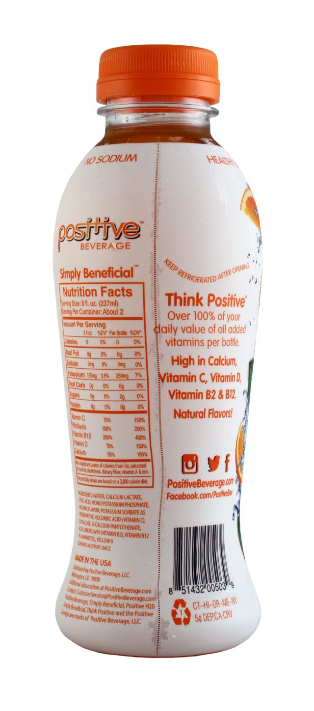 Positive Beverage: Positive Mandarin Facts