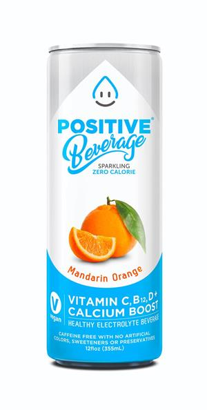 Positive Beverage: 848112502 positive-beverage-orange