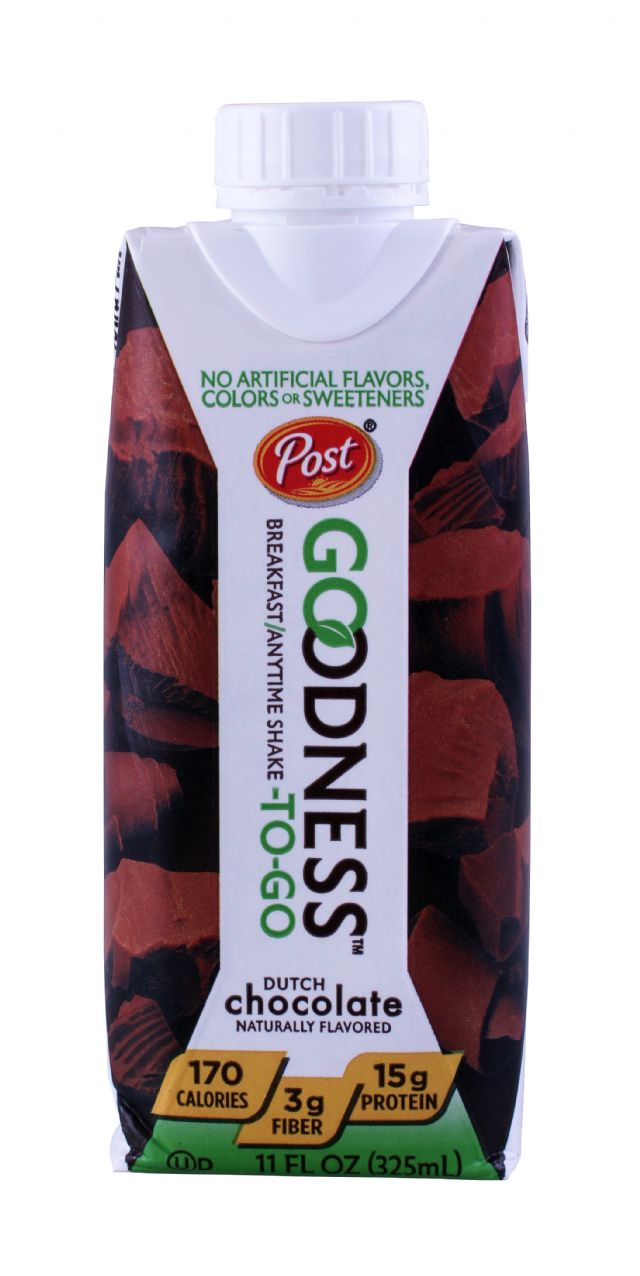 Post Goodness To Go: Post Chocolate Front