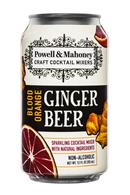 Powell & Mahoney: PowelMahoney-SparklingMixer-12oz-BloodOrange-GingerBeer-Front