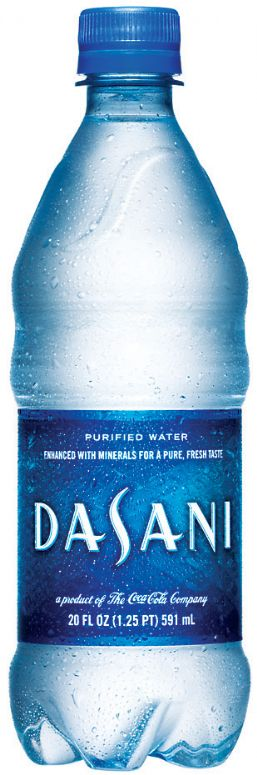 Dasani Water: dasani- purified water