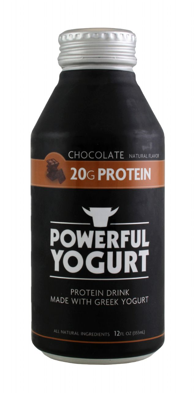 Powerful Yogurt: PowYogurt Choco Front
