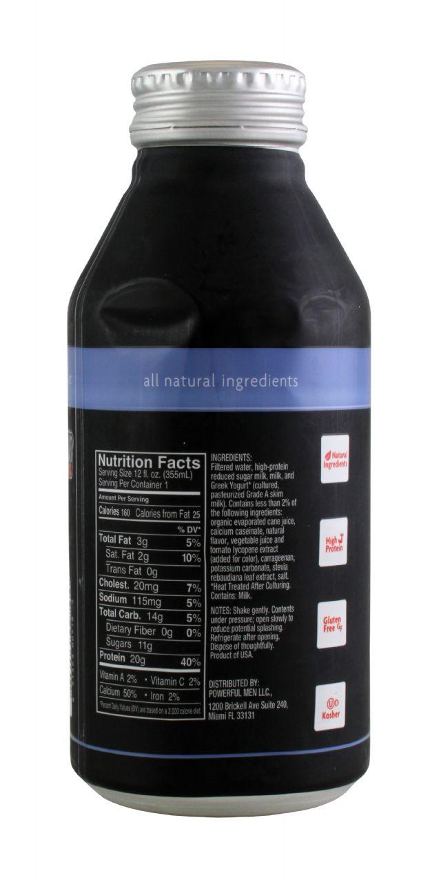 Powerful Yogurt: PowYogurt BlueAcai Facts