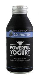 Powerful Yogurt: PowYogurt BlueAcai Front