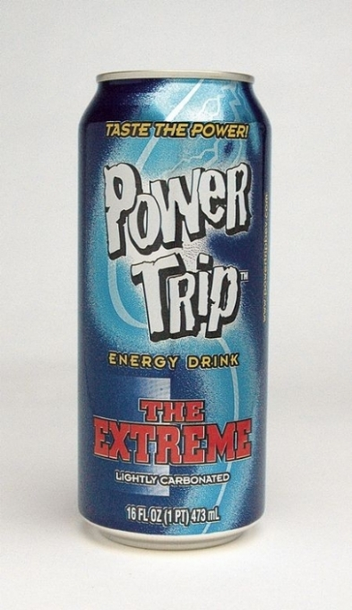 Power Trip Energy Drink: Power Trip The Extreme Single can photo