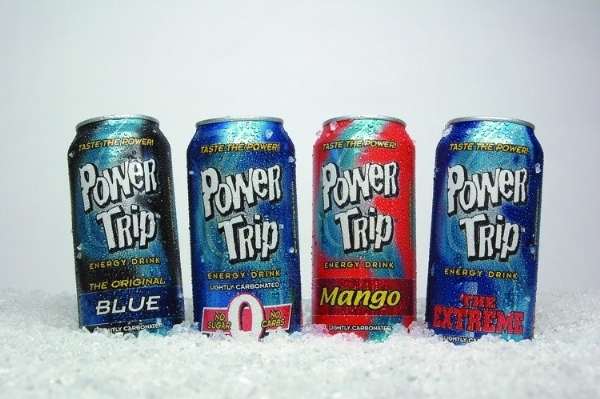 Power Trip Energy Drink: 4 cans