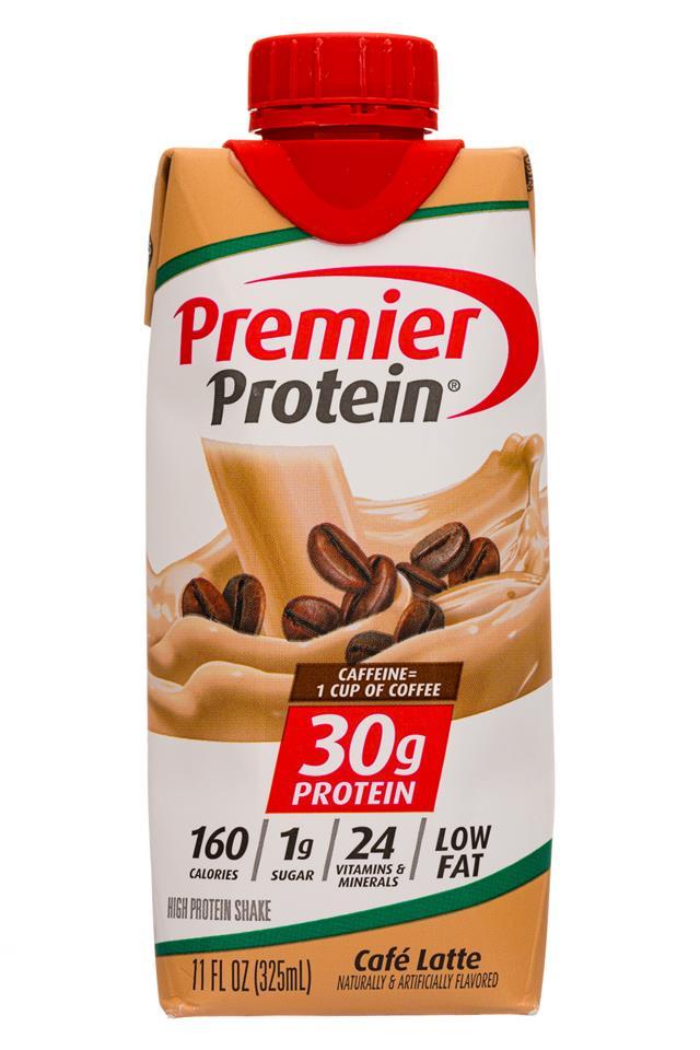 Premier Protein: PremierProtein-11oz-2020-CafeLatte-Front