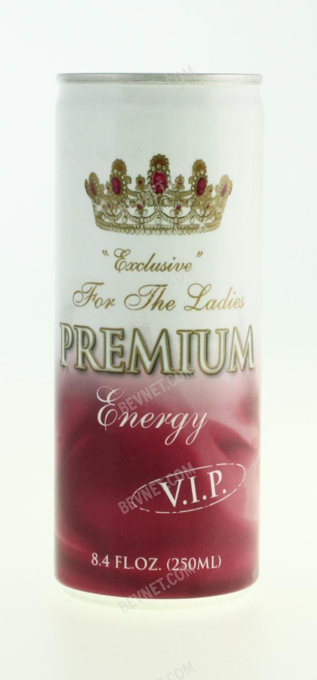 Premium Energy VIP Drink: