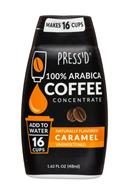 Press'd Coffee: Pressd-2oz-CoffeeConcentrate-Caramel-Front