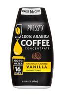 Press'd Coffee: Pressd-2oz-CoffeeConcentrate-Vanilla-Front
