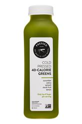Cold Pressed 40-calorie Greens
