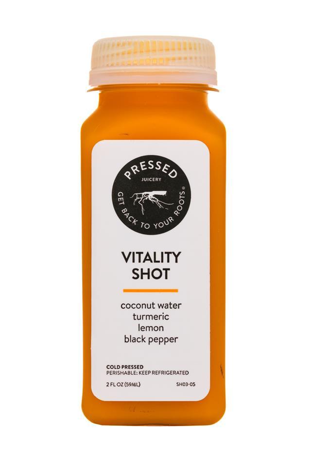 Pressed Juicery: PressedJuicery-2oz-Shot-Vitality-Front