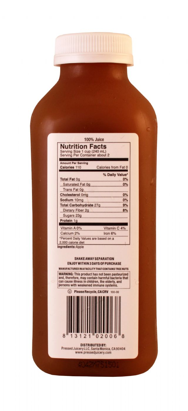 Pressed Juicery: Pressed Apple Facts