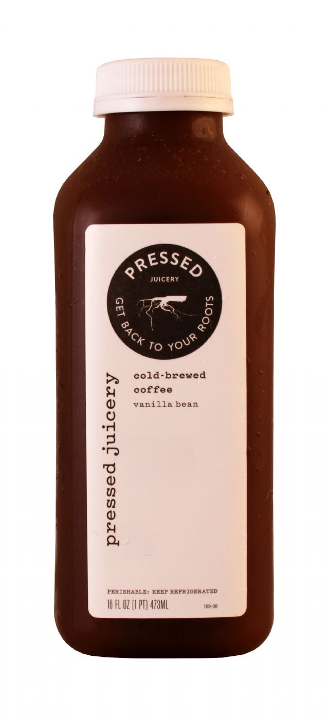 Pressed Juicery: Pressed Coffee Front