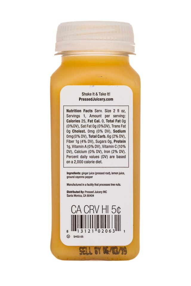 Pressed Juicery: PressedJuicery-2oz-Shot-Wellness-Facts