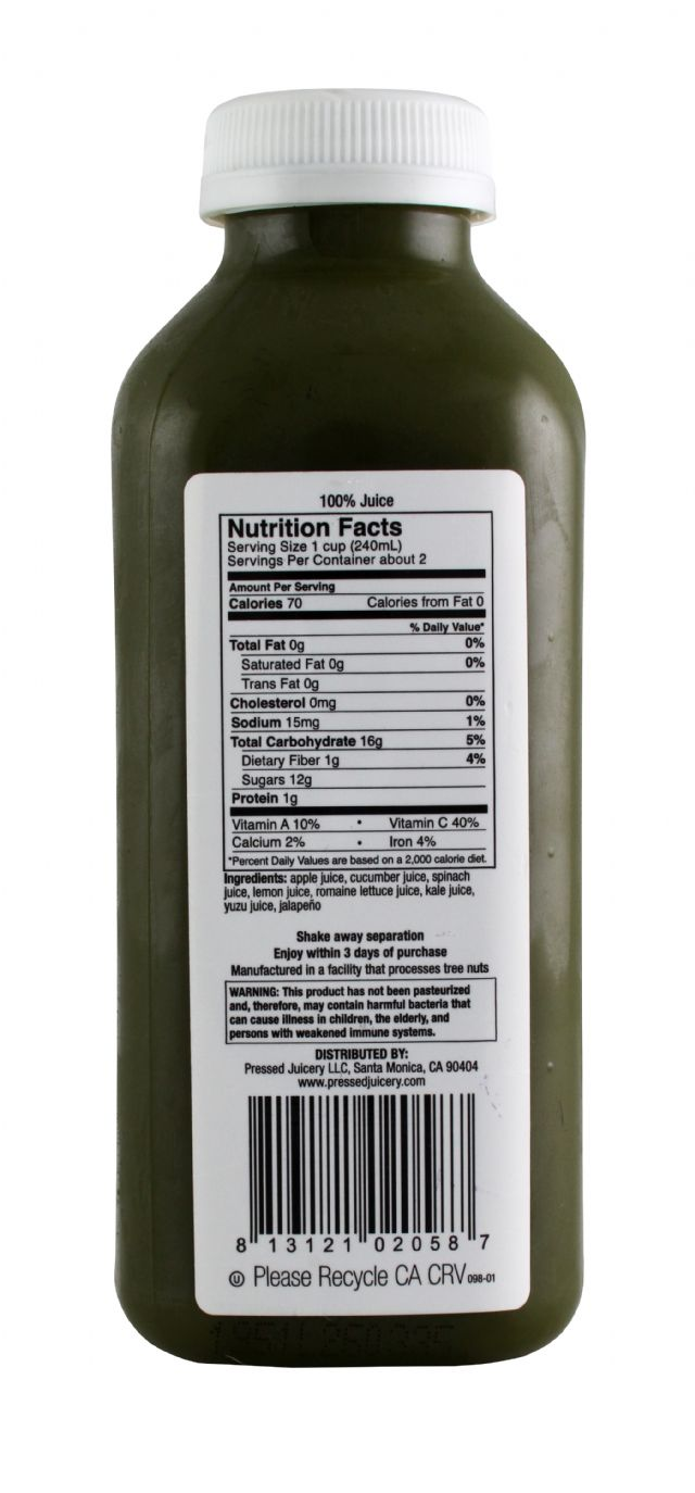 Pressed Juicery: PressedJuicery Kale Facts