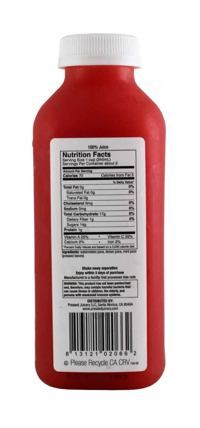 Pressed Juicery: Pressed Watermelon Facts