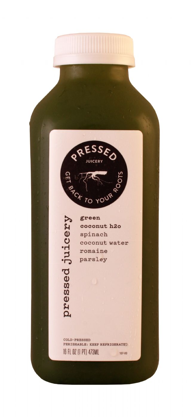 Pressed Juicery: Pressed GreenCoco Front
