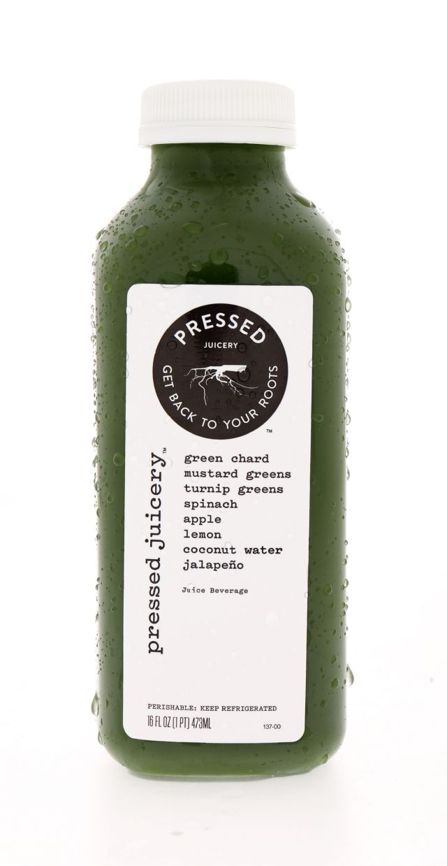 Pressed Juicery: Pressed GreenChard Front