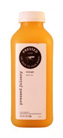 Pressed Juicery: Pressed Orange Front