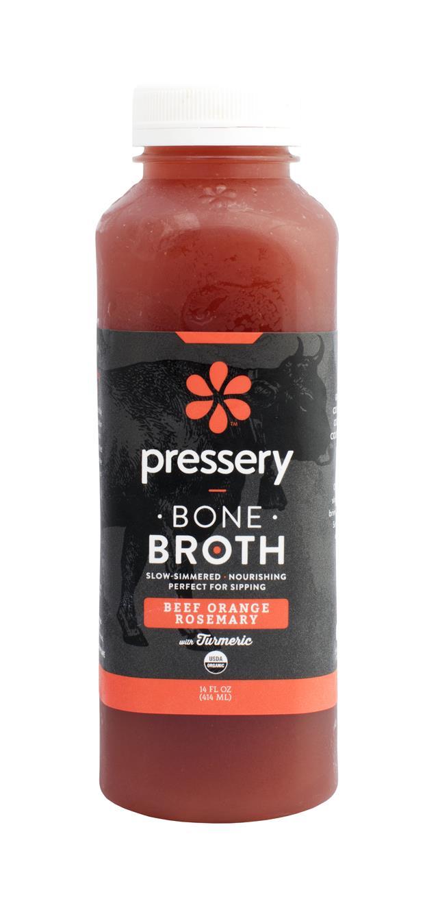 Pressery Bone Broth: PresseryBoneBroth BeefOrange
