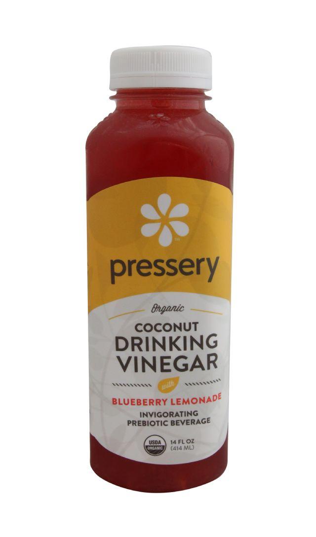 Pressery Coconut Drinking Vinegar: PresseryBlueberryLemonade_front