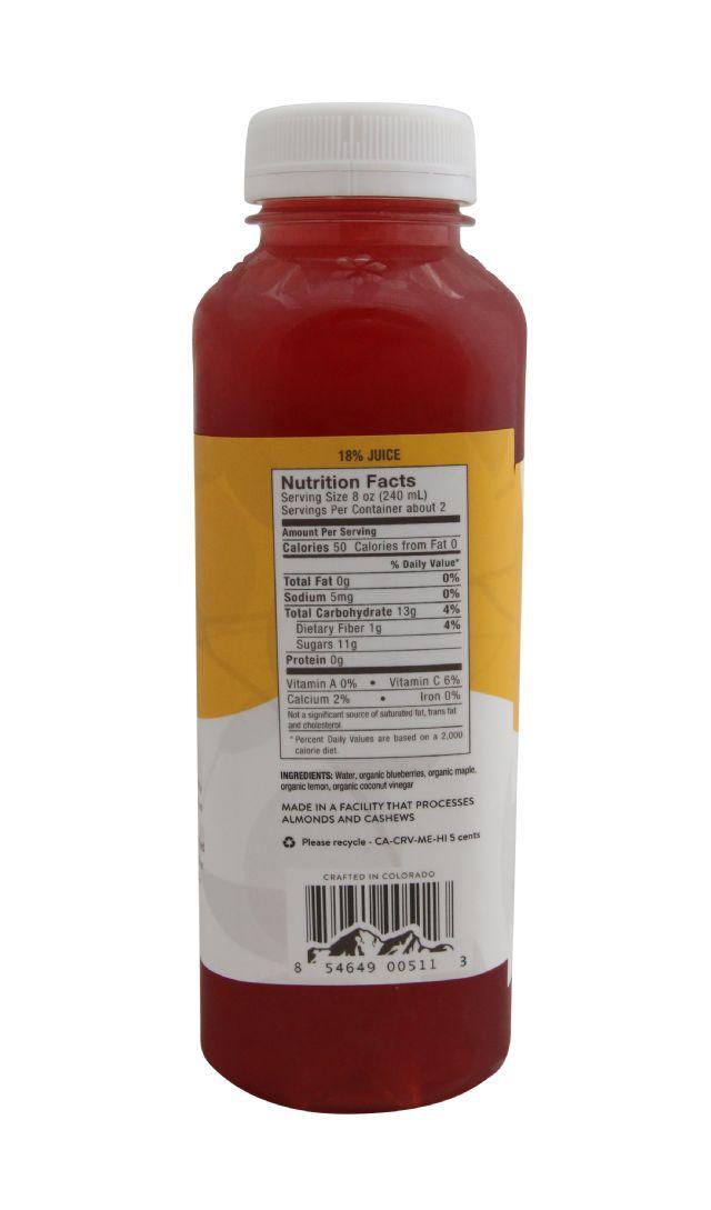 Pressery Coconut Drinking Vinegar: PresseryBlueberryLemonade_facts