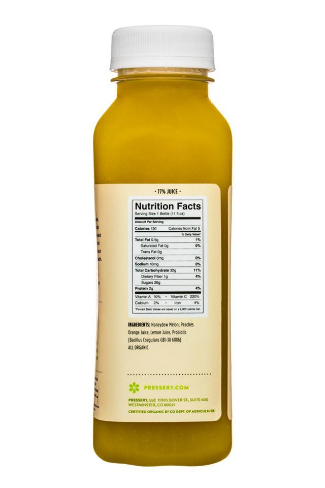 Pressery Probiotic Soup: Pressery-11oz-ProbioticSoup-HoneydewMelon-Facts