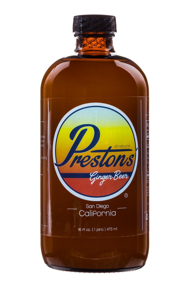Prestons: Prestons-GingerBeer-16oz-Front