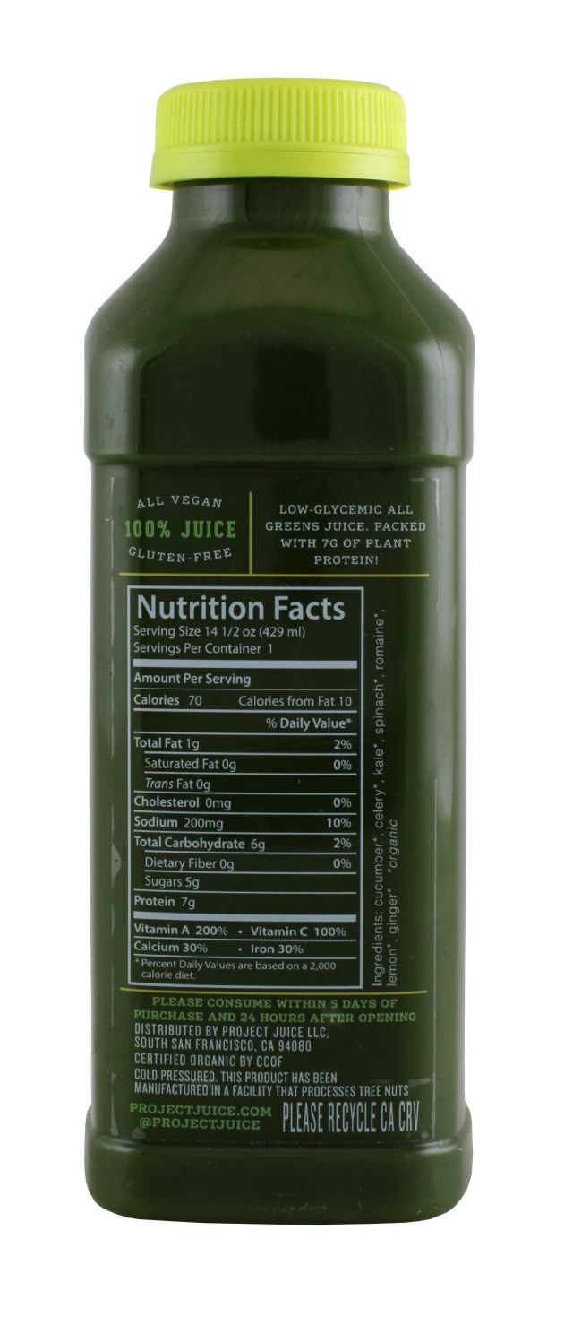 Project Juice: ProjectJuice DeepGreen Facts