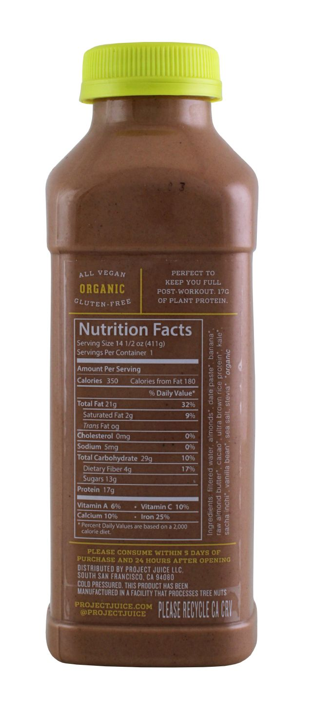 Project Juice: ProjectJuice ChocoProt Facts