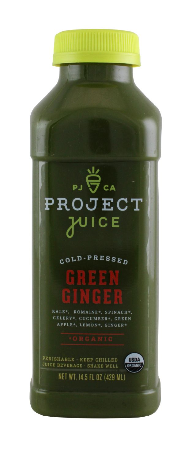 Project Juice: ProjectJuice GreenGinger Front